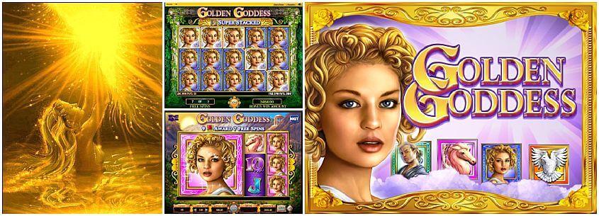 Golden Goddess Free Pokie